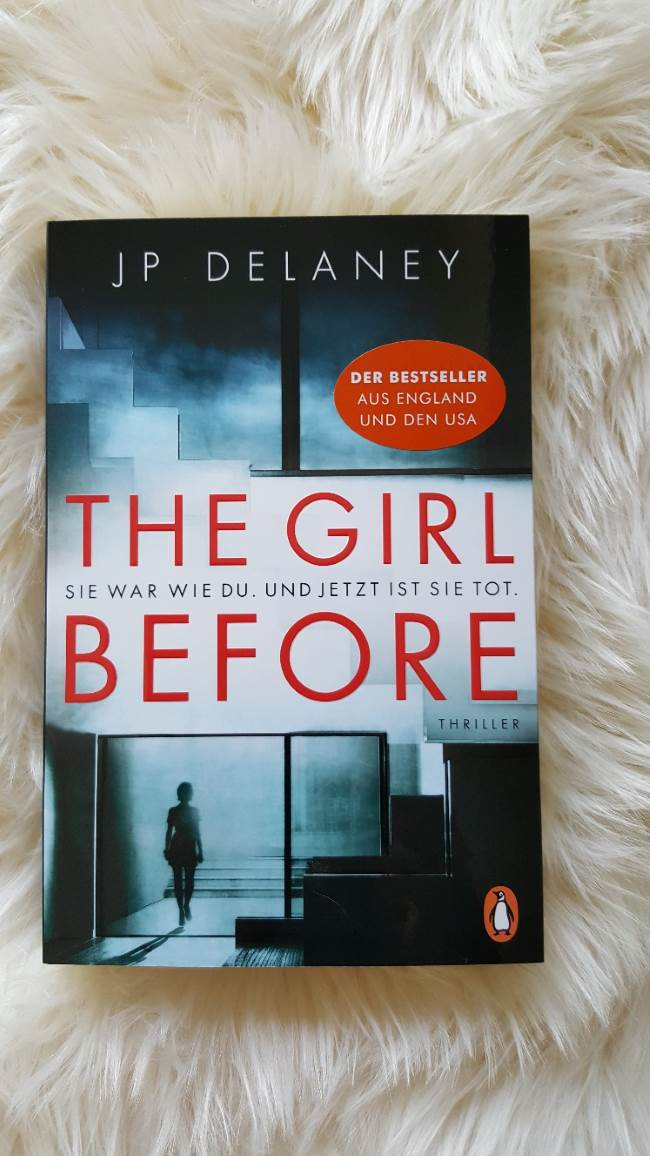 The girl before von JP Delaney - Rezension
